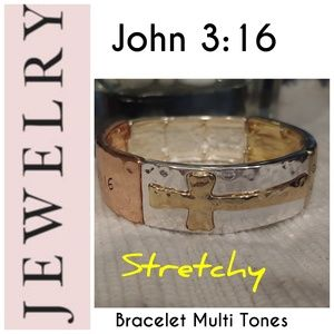 🆕 JOHN 3:16 STRETCHY BRACELET